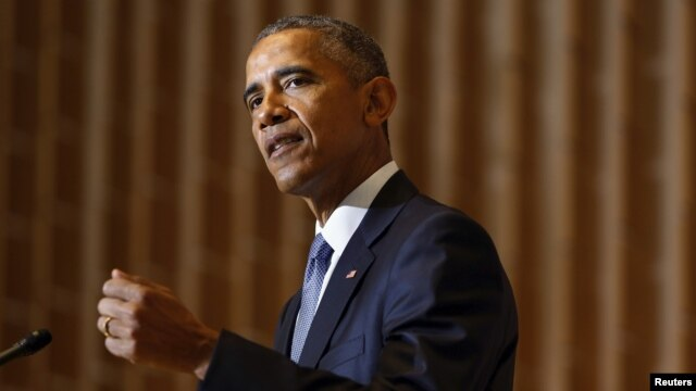 FILE - President Barack Obama in Washington, D.C., May 22, 2015.