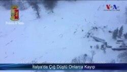 İtalya'da Çığ Düştü Onlarca Kişi Kayıp