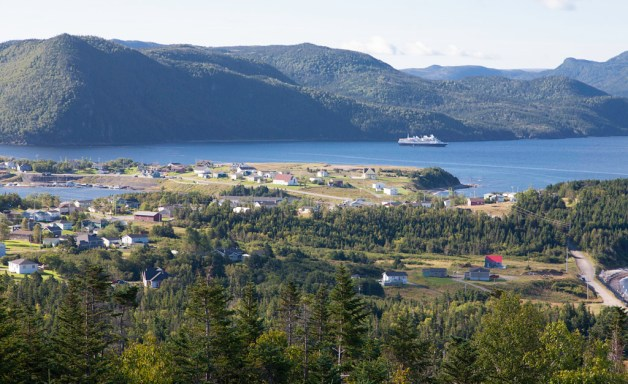 Norris Point seen from the lookout