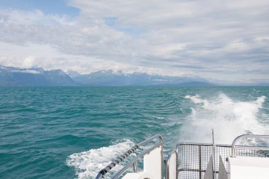 En route to Juneau with Alaska Fjordlines