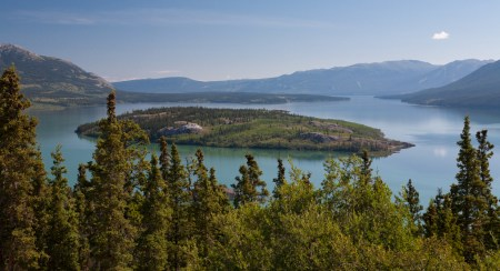 Bove Island, Tagish Lake