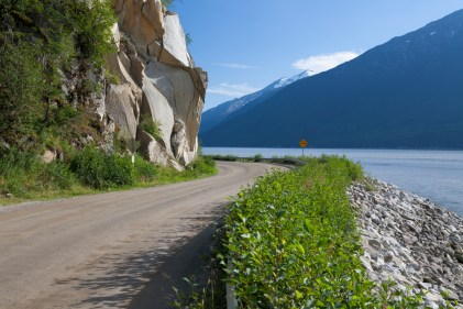 The road to Dyea - and the Chilkoot Trail Outpost