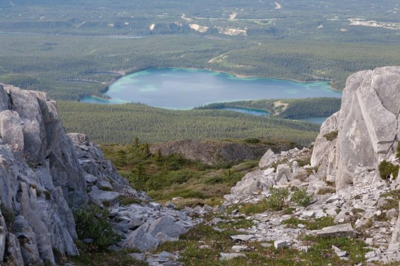 Gray Mountain: Chadburn Lake below Gray Mountain