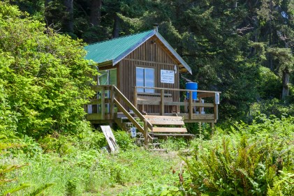 First Nations trail guardian cabin