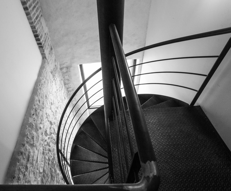 Escalier-colimaçon-métal-Voiron