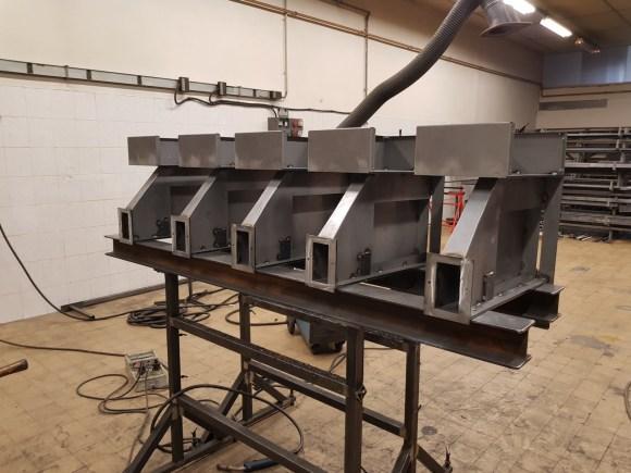 Mécano soudé-machines spéciales-industriel-tôlerie