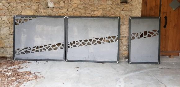Portail-métal-Isère-design-artisanal