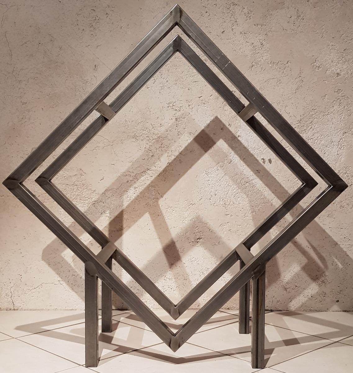 Porte buches-design-métal-Isère