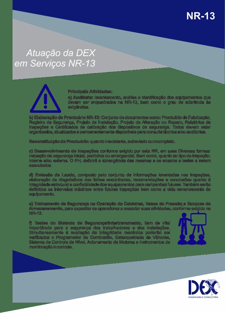 bd069ddb5 NR-13 - DEX Engenharia e Consultoria Ltda