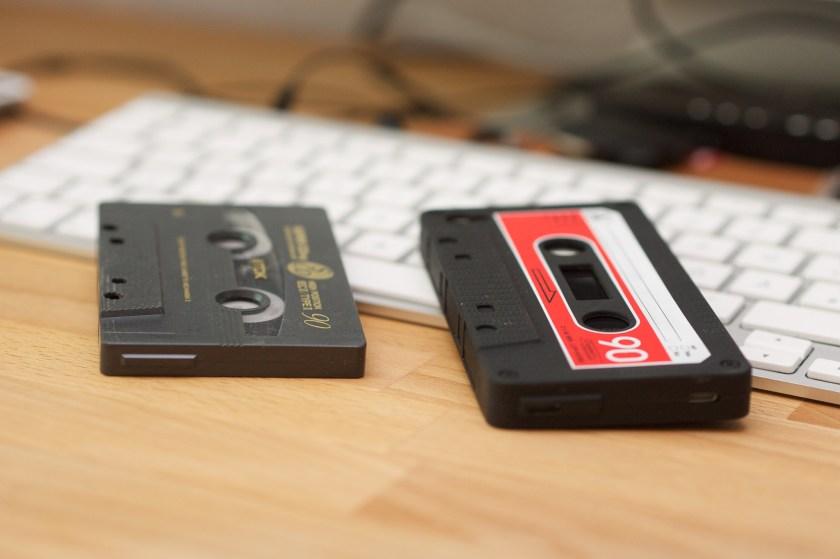 iPhone Hülle Kassete 1