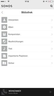 Sonos Controlle App iPhone4