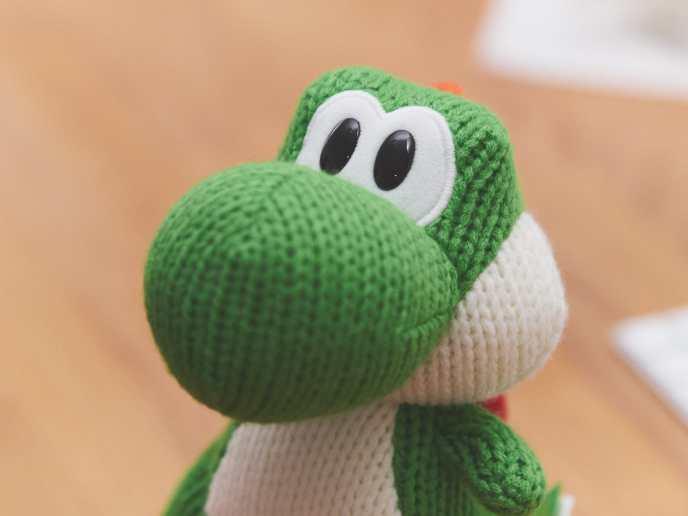 Nintendo amiibo Figur Green Mega Yarn Yoshi P3241044