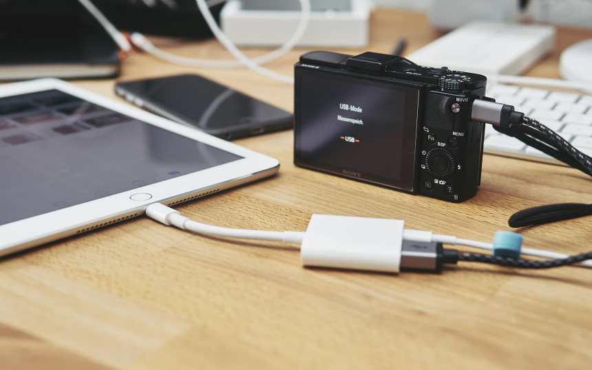 Lightning-auf-USB 3-Kamera-Adapter P4081147