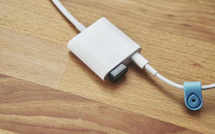 Lightning-auf-USB 3-Kamera-Adapter P4081148