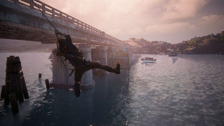 Uncharted 4 Kletteraction