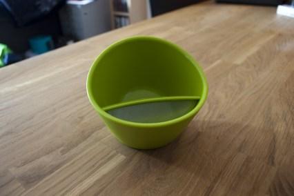 Der Teacup farbenfrohes Teetrinken für Zwischendurch.