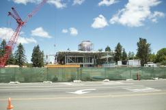 Apple Park - Visitor Center Construction Site