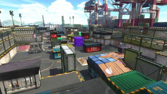 Screenshot Splatoon 2 - Maps
