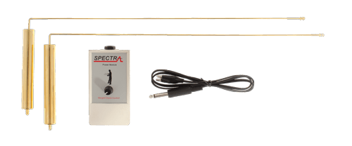 spectra gold detector dowsing L rods