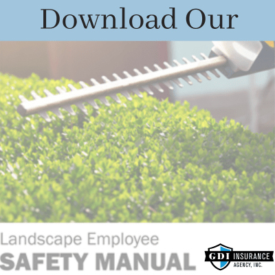 landscaping employee safety