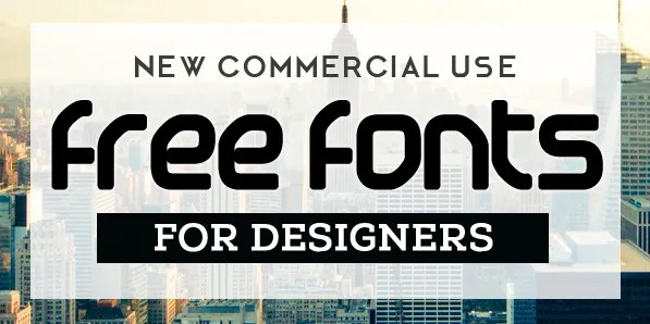Download Free Fonts for Commercial Use (15 New Fonts) | Fonts ...