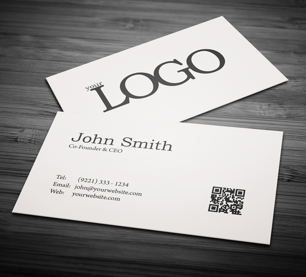 Free Business Cards PSD Templates   Print Ready Design   Freebies     Free Minimal Business Card PSD Template