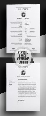 50 Best Minimal Resume Templates   Design   Graphic Design Junction 50 Best Minimal Resume Templates   17