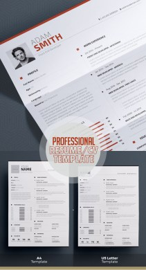 50 Best Minimal Resume Templates   Design   Graphic Design Junction 50 Best Minimal Resume Templates   49