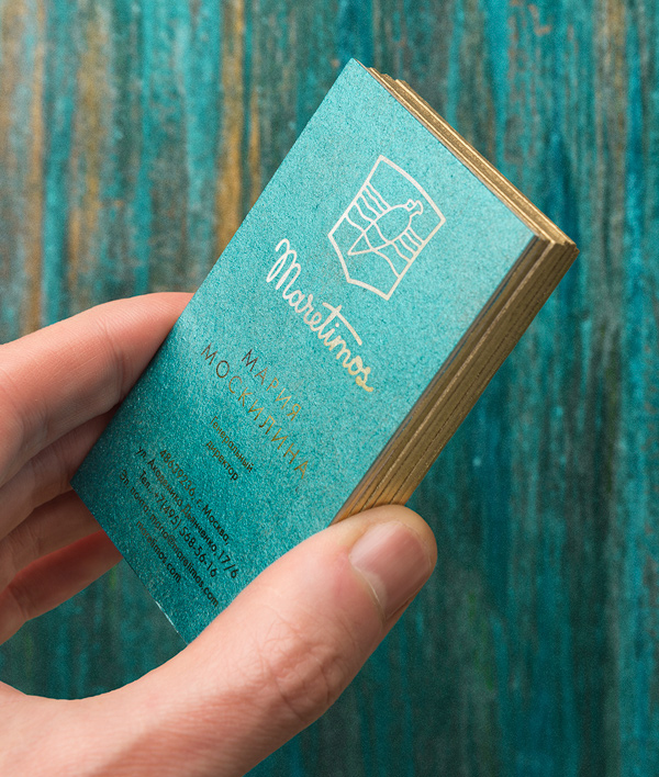 Branding: Maretimos - Business Card -