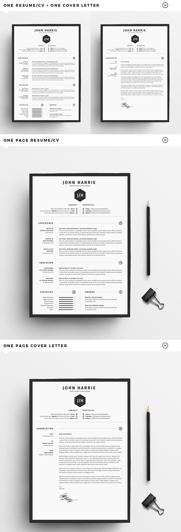 Font Of Cover Letter