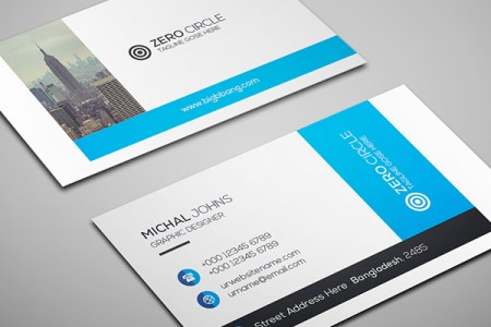 Free Business Card Templates   Freebies   Graphic Design Junction 26 Modern Free Business Cards PSD Templates   16