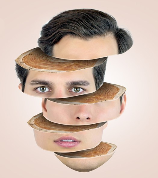 How to Create Face Slice Wooden Effect in Photoshop Tutorial