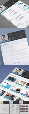 50 Best Resume Templates For 2018   Design   Graphic Design Junction 25 Fresh Free Professional Resume Templates
