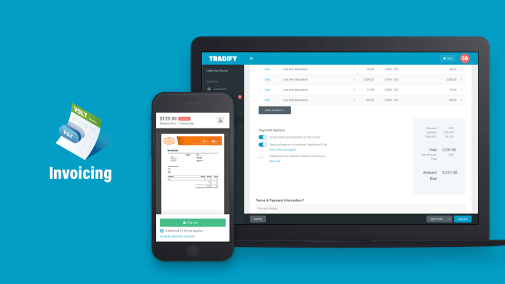 tradify pricing, features, reviews & alternatives   getapp
