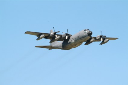 C130 Hercules Incorrect Shutter Speed Example
