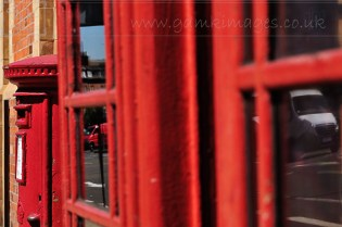 Red Telephone and Post Boxes