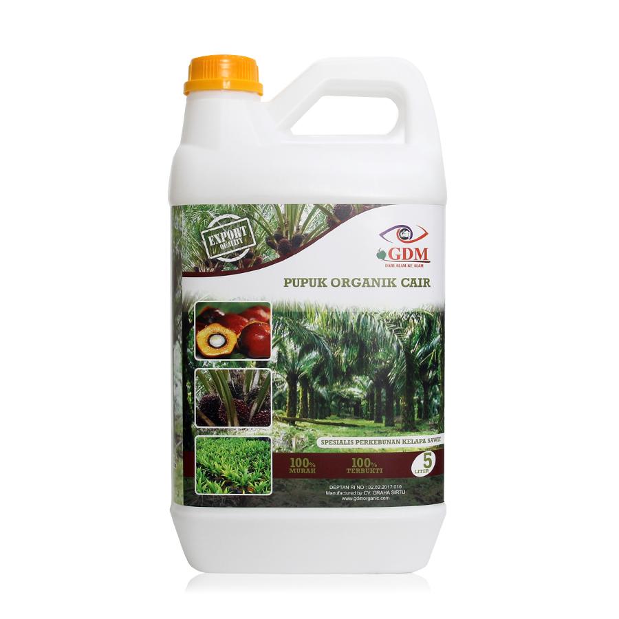 pupuk organik cair gdm spesialis sawit 5ltr