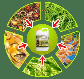 bahan pupuk organik cair gdm spesialis tanaman pangan