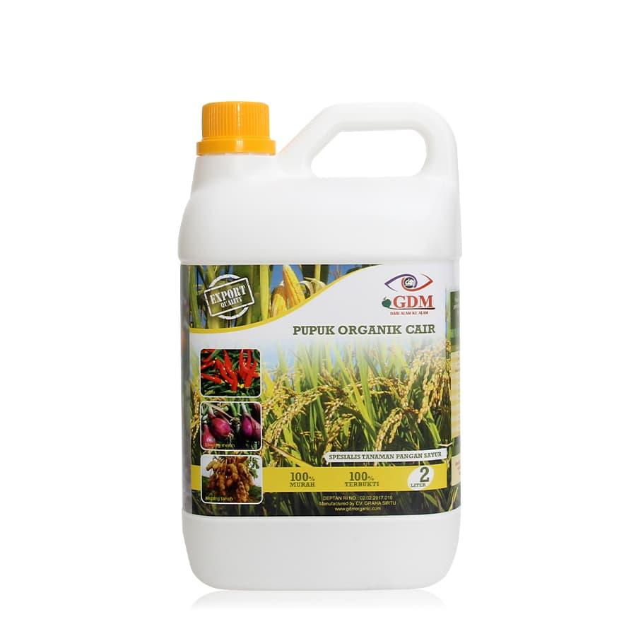 produk pupuk organik cair gdm spesialis pangan 2ltr