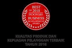 penghargaan kualitas produk