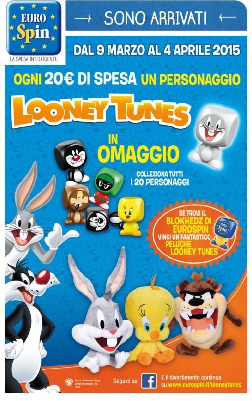 Eurospin Looney Tunes Blokhedz