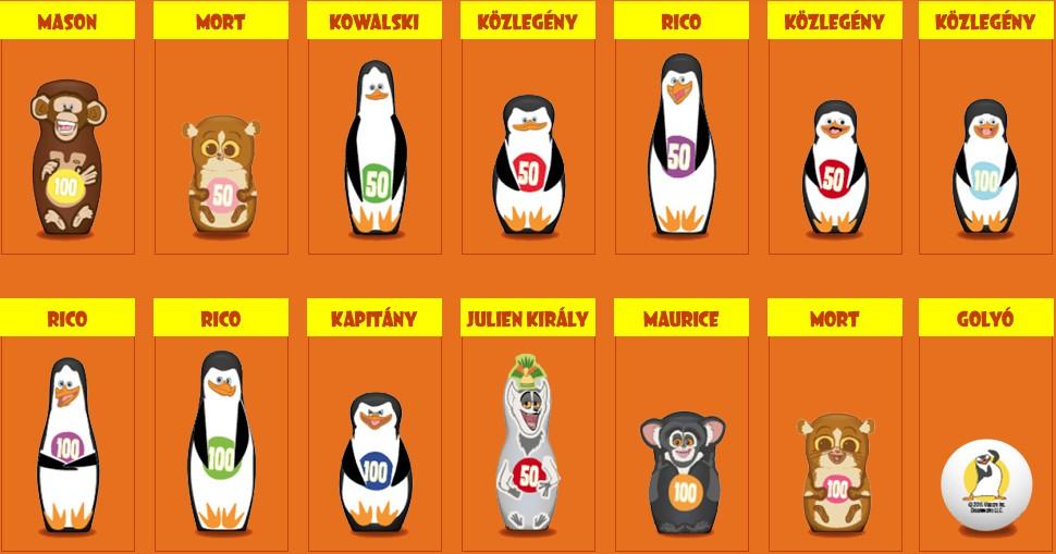 Tesco  Pinguini Figures