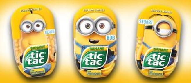 Frerrero Tic Tac minions
