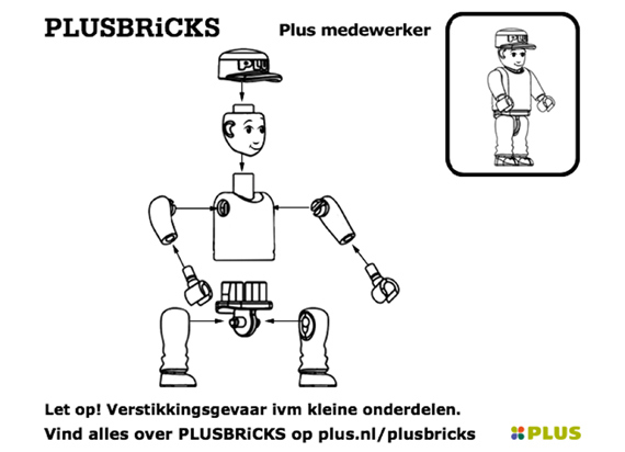 Plusbricks Men