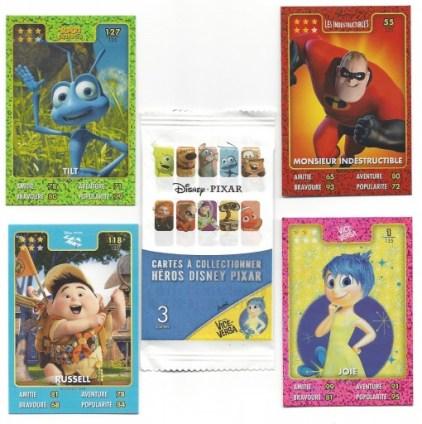 Auchan Card Disney Pixar Heros