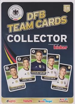Kinder DFB_Team_Cards_Collector