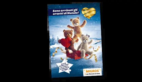 Migros teddy bears folder