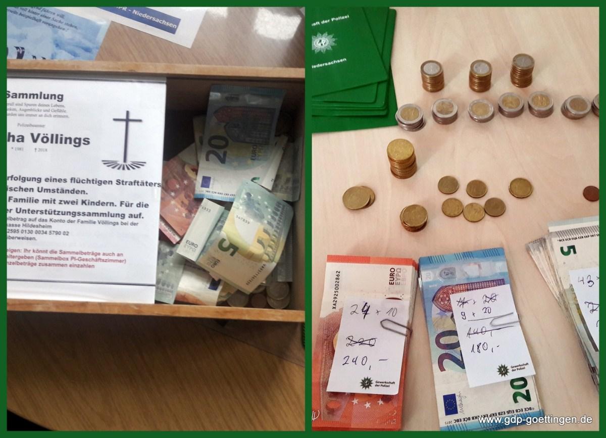 Überweisung Spendensammung Sascha für Hameln und Holzminden