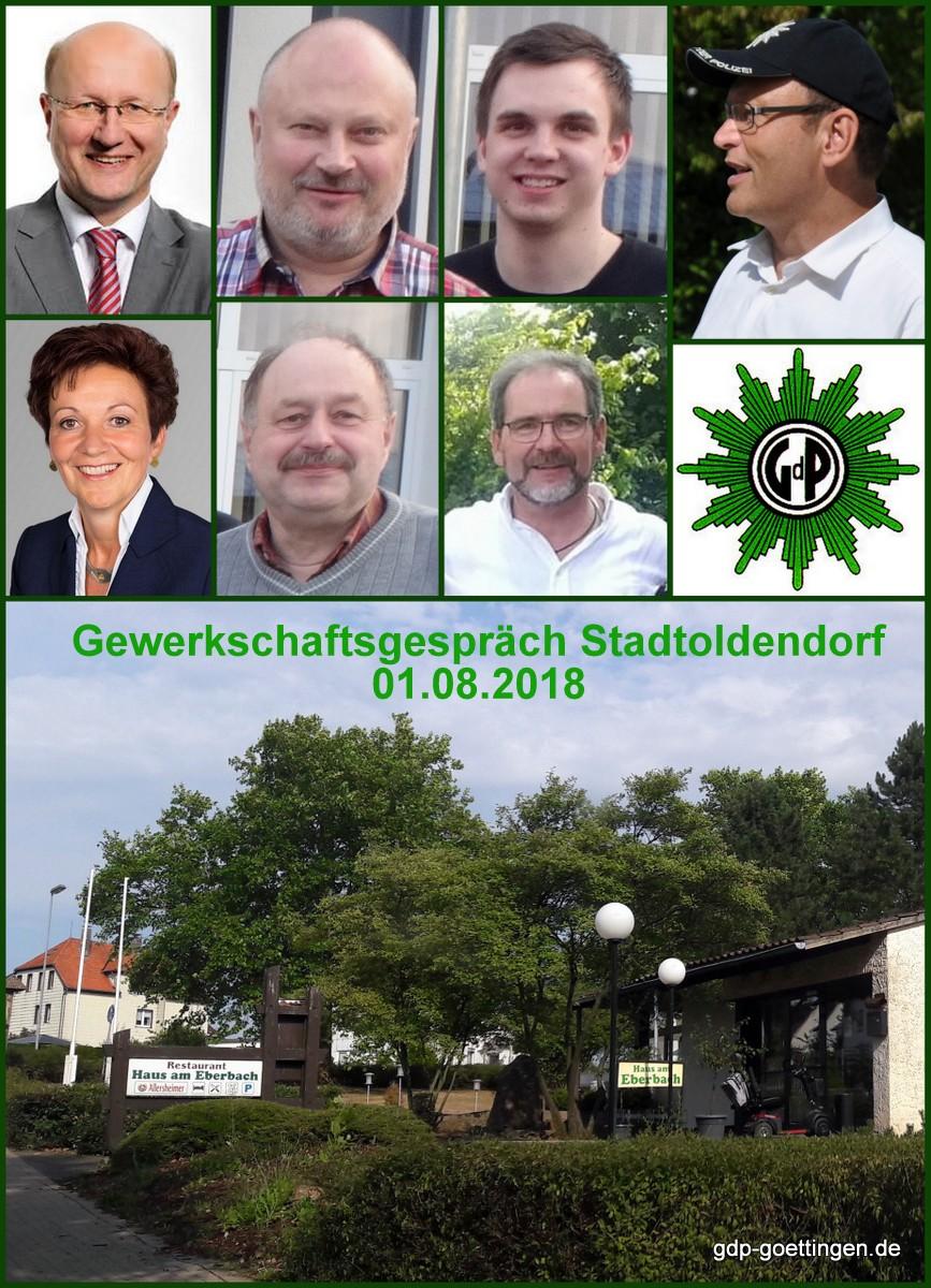 GdP-Gewerkschaftsgespräch mit der SPD in Stadtoldendorf