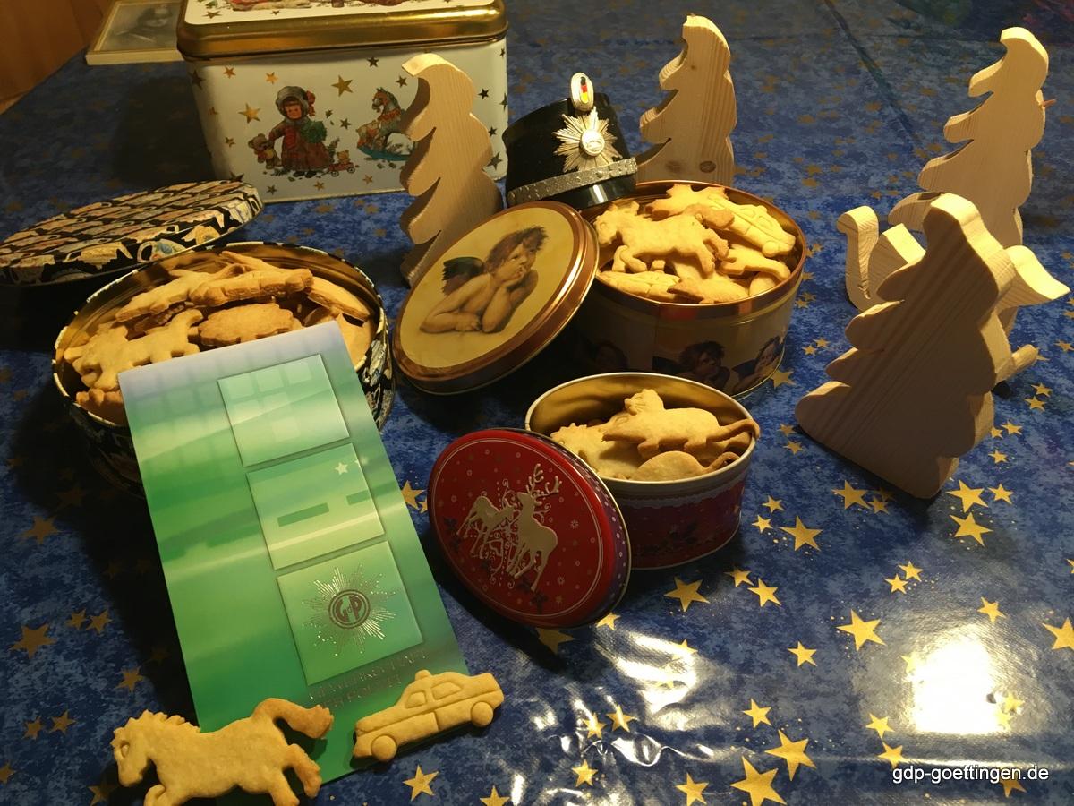 Weihnachts- und Jahresabschlussgruß der GdP Bezirksgruppe Göttingen